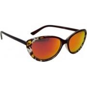 Els Cat-eye Sunglasses(Red)
