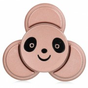 BLCR Panda patron de cabeza Tri-estilo de juguete EDC Spinner dedo - Rosa de Oro