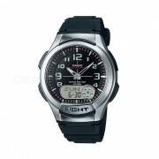 Casio AQ-180W-1BVDF reloj casual - plata / negro (sin caja)