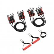 [pro.tec]® Máquina cable multifunción - Profesional multiejercicios - musculación - gimnasio en casa (cinta pectoral, resistencia, prensa de hombros)