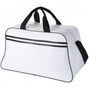 Geanta de umar sport, Everestus, SE, 600D poliester, alb, saculet de calatorie si eticheta bagaj incluse