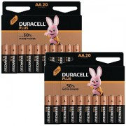 Duracell Plus Power AA 40-pack (MN1500-X40)