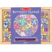 Творчески комплект - Дървени бижута пеперудки - 14179 - Melissa and Doug, 000772141796