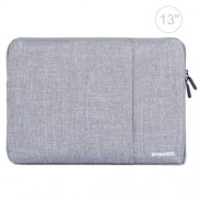 HAWEEL 13.0 inch Sleeve Case Zipper Briefcase Laptop Carrying Bag For Macbook Samsung Lenovo Sony DELL Alienware CHUWI ASUS HP 13 inch and Below Laptops(Grey)