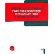 Legea Nr.151 din 2015 privind procedura insolventei persoanelor fizice