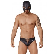 Candyman Wrestler Outfit Costume Black 99352