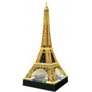 Puzzle 3D Ravensburger - Turnul Eiffel Noaptea, 216 piese (12579)