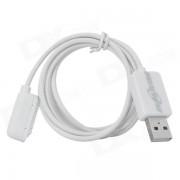 Bluestar USB 2.0 Magnetica datos cable de carga para Sony - Negro (100cm)