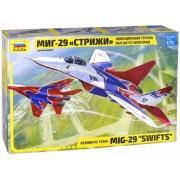 Звезда Конструктор Звезда Самолет МиГ-29 Стрижи 1:72 190 элементов