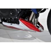 Honda CB1000R (2008-12) Belly Pan: White (Red Stripes) 890128103