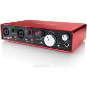 Interfaz de Audio Focusrite Scarlett 2i4 de 2da Generación USB MK2