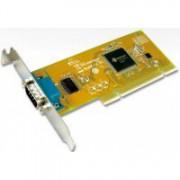 Port serial 9 pini, high profile, conexiune PCI