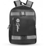 Optima OPT-N-005 Travel Laptop Backpack, Business Durable Laptops Backpack, Water Resistant College School Computer Bag for Women & Men Laptop and Notebook 29 L Laptop Backpack(Black, Grey)