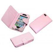 iPhone 4 iPock Plånbok (Ljusrosa)
