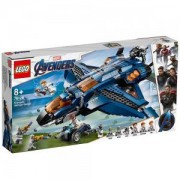 Конструктор Лего Супер Хироу - Съвършеният Quinjet на Avenger, LEGO Marvel Super Heroes, 76126