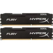 Kit Memorie Kingston HyperX Fury Black 2x8GB DDR3L 1600MHz CL10