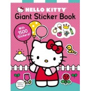 Hello Kitty: Giant Sticker Book: With 1500 Stickers, Paperback