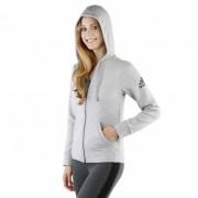 "adidas Essentials Solid Fullzip Hoodie ""Medium Grey Heather"""