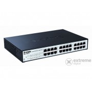 D-Link 24-Port 10/100/1000 Mbps Gigabit Smart Switch (DGS-1100-24)
