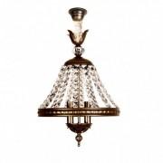 Dekogar Lámpara de techo cristal antigua Juno