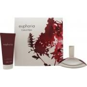 Calvin Klein Euphoria Giftset 50ml EDP + 100ml Body Lotion