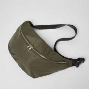 River Island Mens Khaki green crossbody sling bag (One Size)