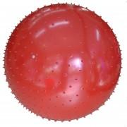 Pelota De Esferodinamia Con Pinches GMP 45cm Diámetro Rojo