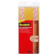 Scotch Packaging Re-Use Mailer Re-Flap 3.75-Inch x 9-Inch (RU-RF24L)