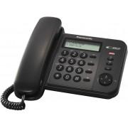 Žični telefon Panasonic KX-TS560FXB, crni