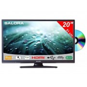 Salora 20 Inch LED TV 9109 met DVD