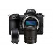 Digitalni foto-aparat Nikon Z6, Set (Sa 24-70mm f4 + FTZ adapter), Crna
