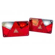 2 x Feu arrière Aspöck Multipoint V LED