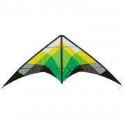 HQ Kites tweelijnsvlieger Salsa III Jungle 188 cm groen/geel