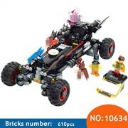 Generic 610pcs 10634 Batman Movie The Batmobile Building Blocks Set DIY Bricks Toys Gift for Children Compatible 70905