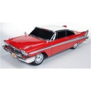 """1958 Plymouth Fury """"Christine"""" 1/18 By Autoworld Awss102"""