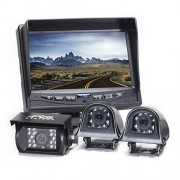 Rear View Safety RVS-770616N Video Camera with 7-Inch LCD(Black)