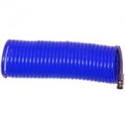 Tubo aria compressa spirale/spiralato in PVC ad innesto rapido 10m