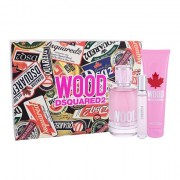 Dsquared2 Wood confezione regalo eau de toilette 100 ml + doccia gel 150 ml + eau de toilette 10 ml donna