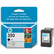 HP 350 ( CB335EE ) Black Inkjet Print Cartridge with Vivera Ink