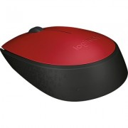 Безжична мишка Logitech M171 Red