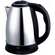 Mezire Cordless Stainless Steel Tea Heater with Auto Shut Off & Boil Dry Protection Electric Kettle (kettle RC-1013) Electric Kettle(1.8 L, Silver)