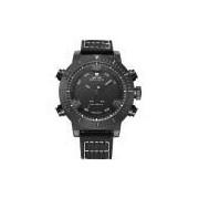 Relógio Masculino Weide Anadigi Wh-6103 Pr