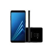 Smartphone Samsung Galaxy A8, 4G Android 7.1 Octa Core 64GB Câmera 16.0MP Tela 5.5, Preto