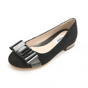 Clarks Women's Festival Game Sde Black Leather Fashion Sandals - 5.5 UK/India (39 EU)