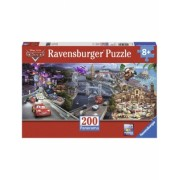 Puzzle Cars Panoramic, 200 Piese Ravensburger