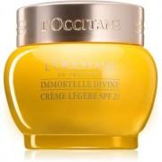 L'Occitane Immortelle Divine Light Moisturizing Cream with Anti-Wrinkle Effect SPF 20 50 ml
