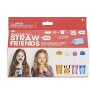 NPW Make Your Own Straw Animal Friends Kit Arts and Crafts Kit