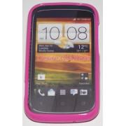 Силиконов гръб ТПУ за HTC Desire C A320e Розов