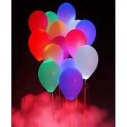 SRajK LED Balloons for Party | Multi-Colour Balloon for Celebration (Pack of 10 )