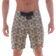 MIIW Physique Camo Boardshorts Beachwear Gold 4706-63